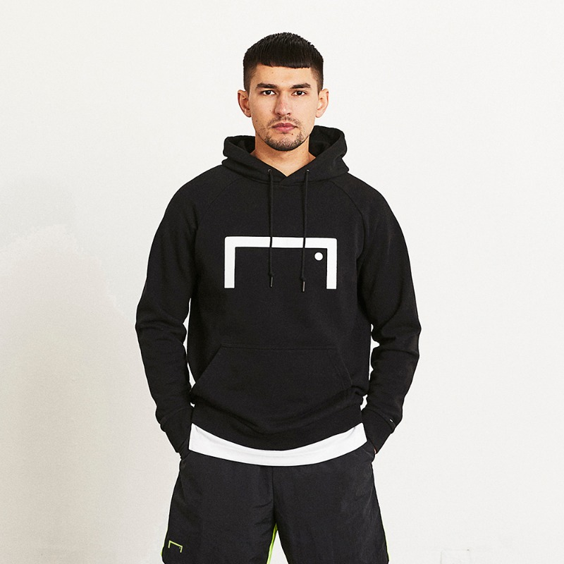 GOALSTUDIO (Less than 5) BIG LOGO HOODIE