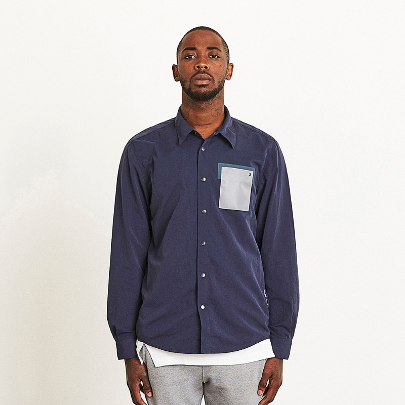 GOALSTUDIO LOGO POCKET SHIRT JACKET
