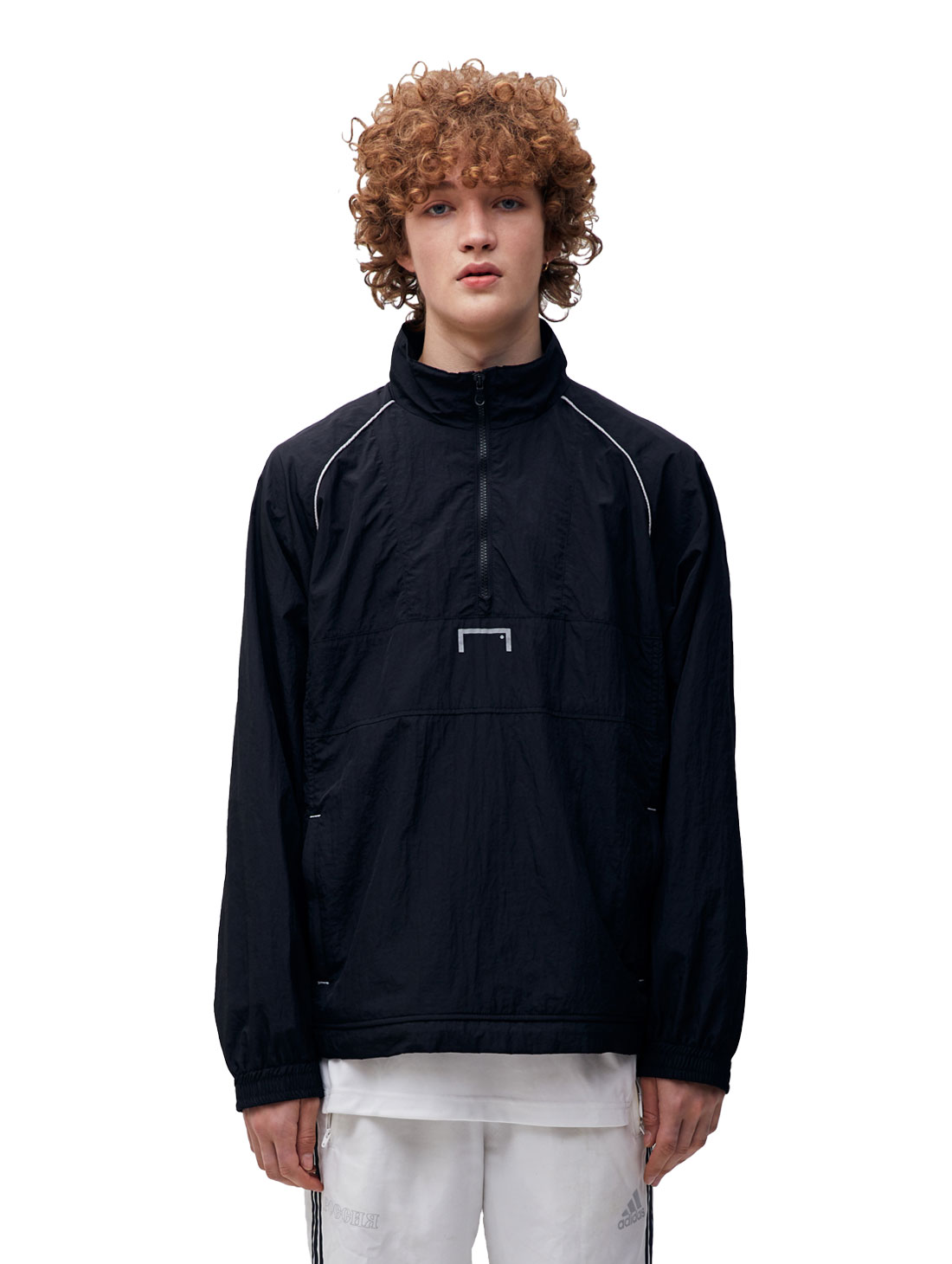 GOALSTUDIO COLOR BLOCK ANORAK - BLACK