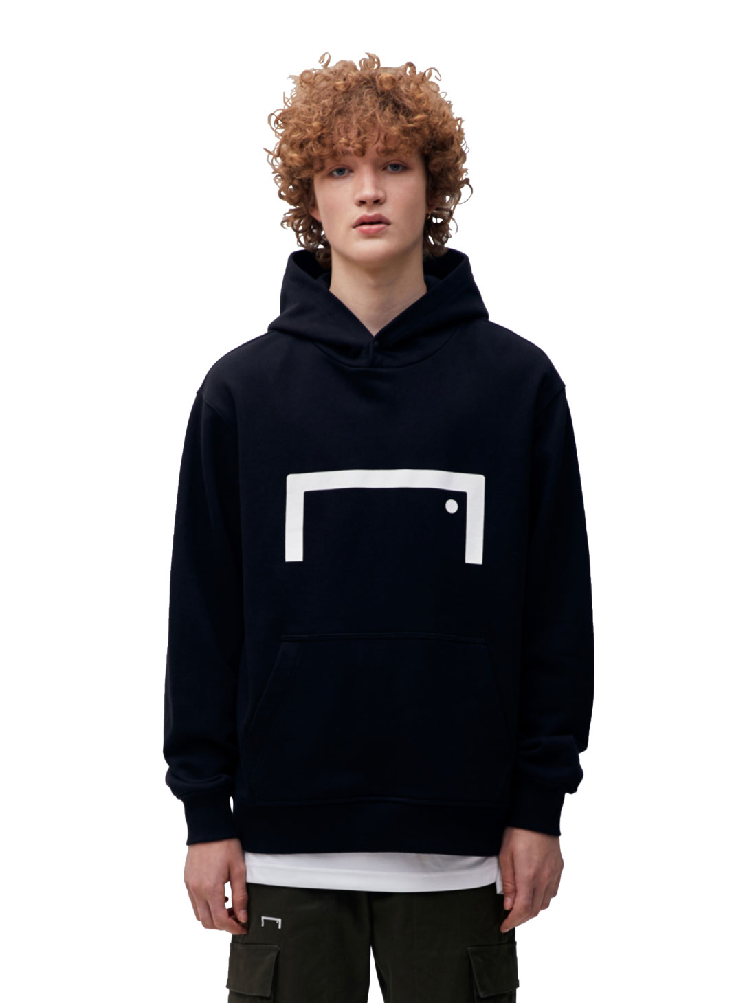 GOALSTUDIO (Sold Out) STRIKER HOODIE - BLACK