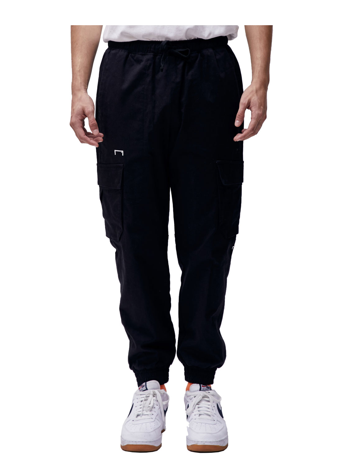 GOALSTUDIO (Sold Out) CARGO JOGGER PANTS - BLACK