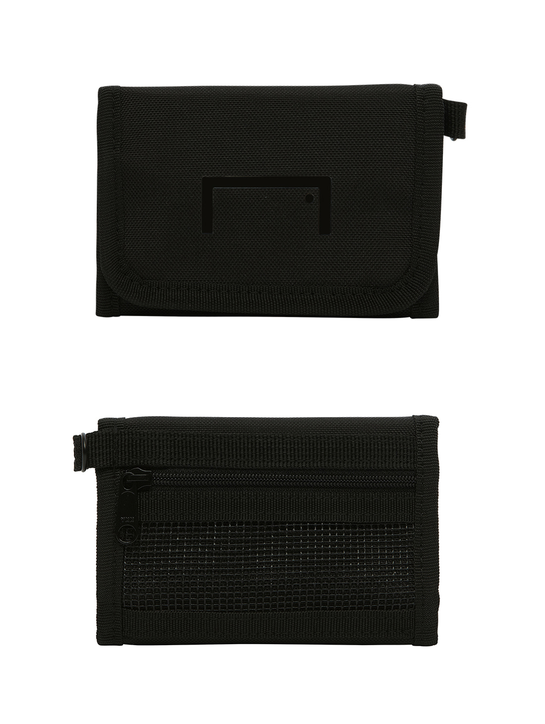 GOALSTUDIO VELCRO WALLET - BLACK