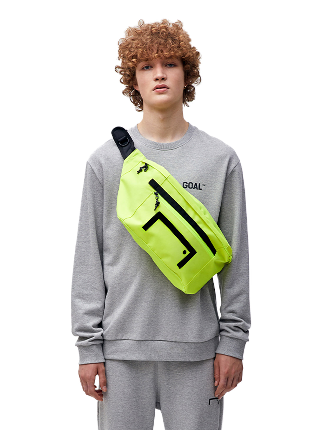 GOALSTUDIO FREESTYLE SLINGBAG - LIME