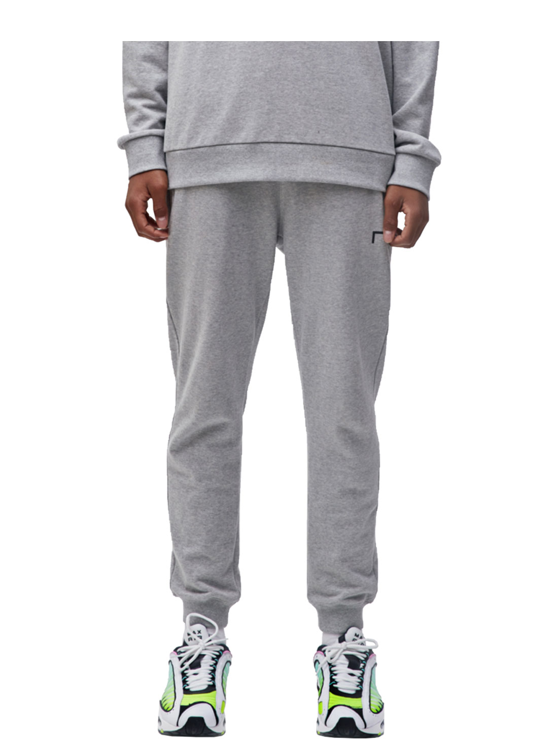 GOALSTUDIO GOAL KNIT JOGGER PANTS - GREY
