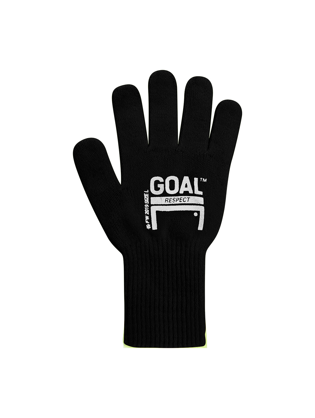 GOALSTUDIO (Sold Out) GOAL GLOVE - BLACK
