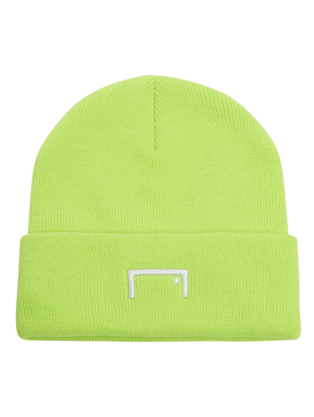 GOALSTUDIO RESPECT LABEL BEANIE - LIME