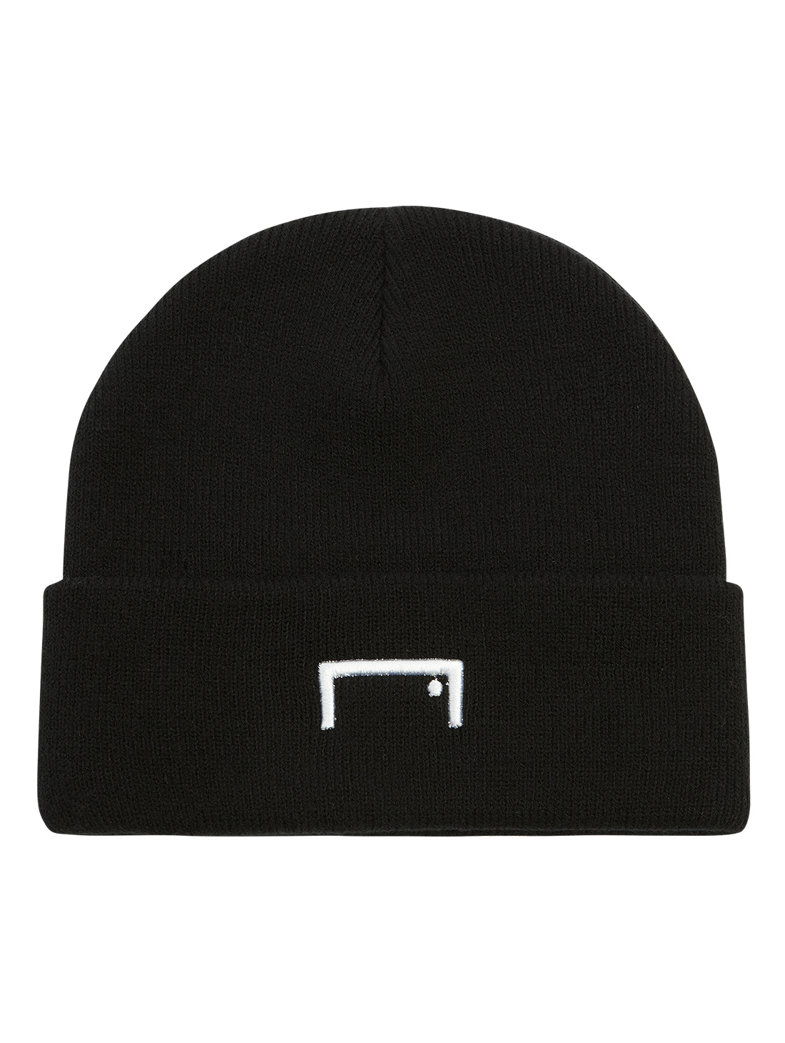 GOALSTUDIO RESPECT LABEL BEANIE - BLACK