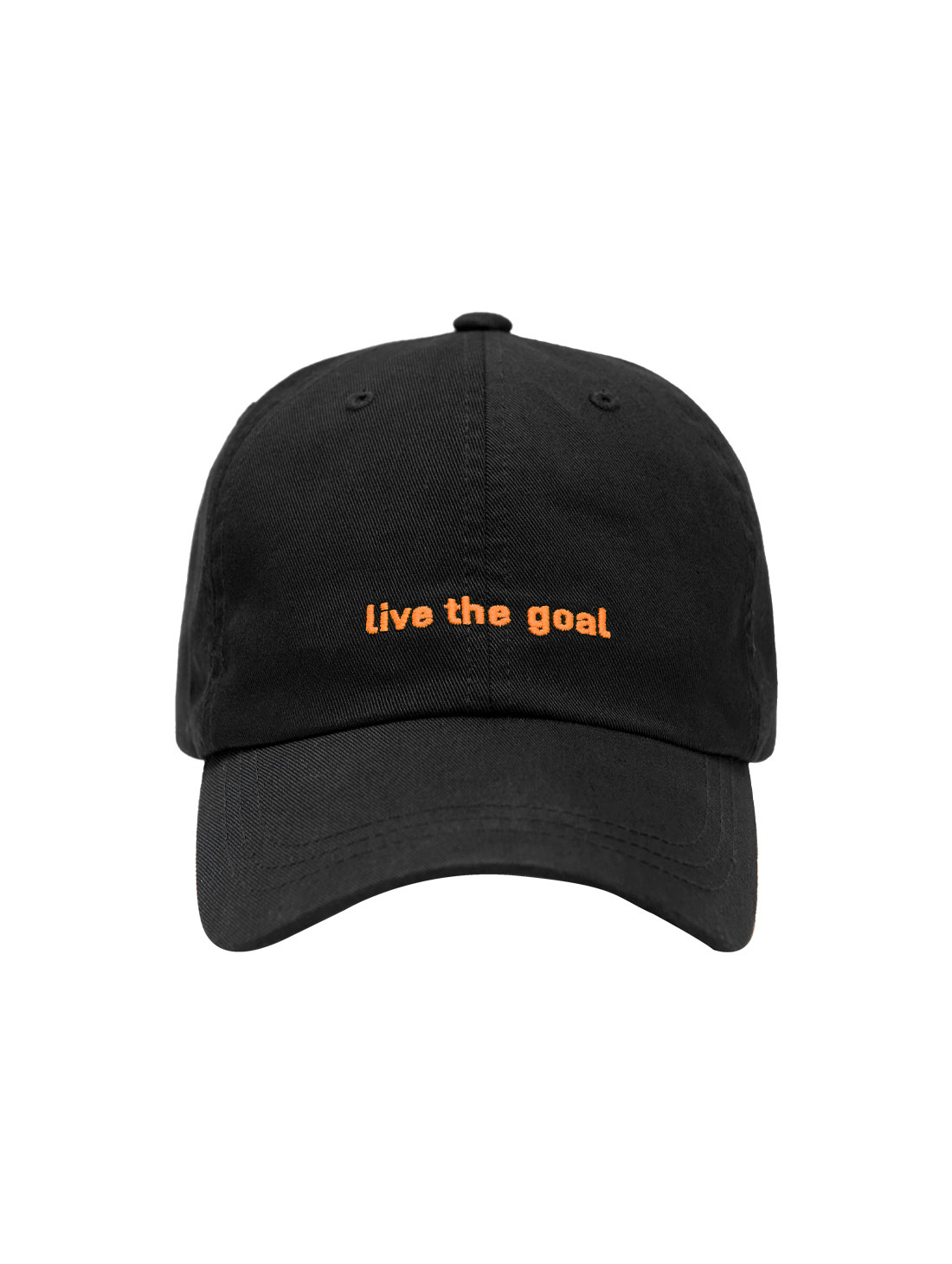 GOALSTUDIO LIVE THE GOAL CAP - ORANGE