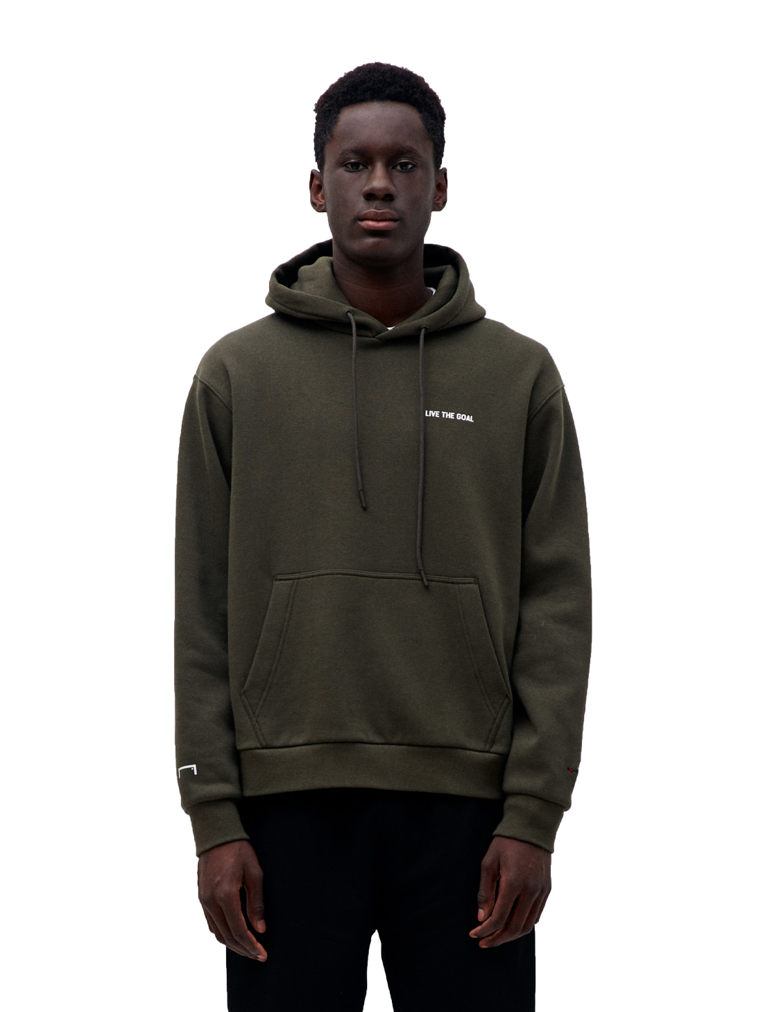 GOALSTUDIO LIVE THE GOAL HOODIE - KHAKI