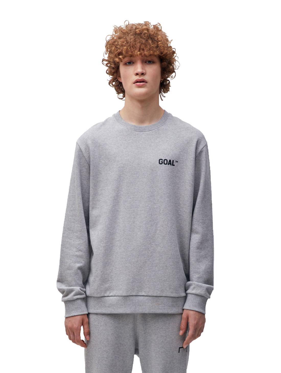 GOALSTUDIO BACK LOGO SWEATSHIRT - GREY