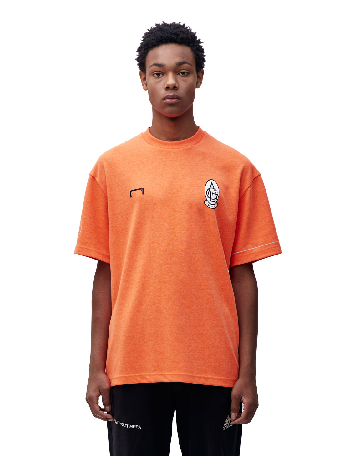 GOALSTUDIO EMBLEM TEE - ORANGE