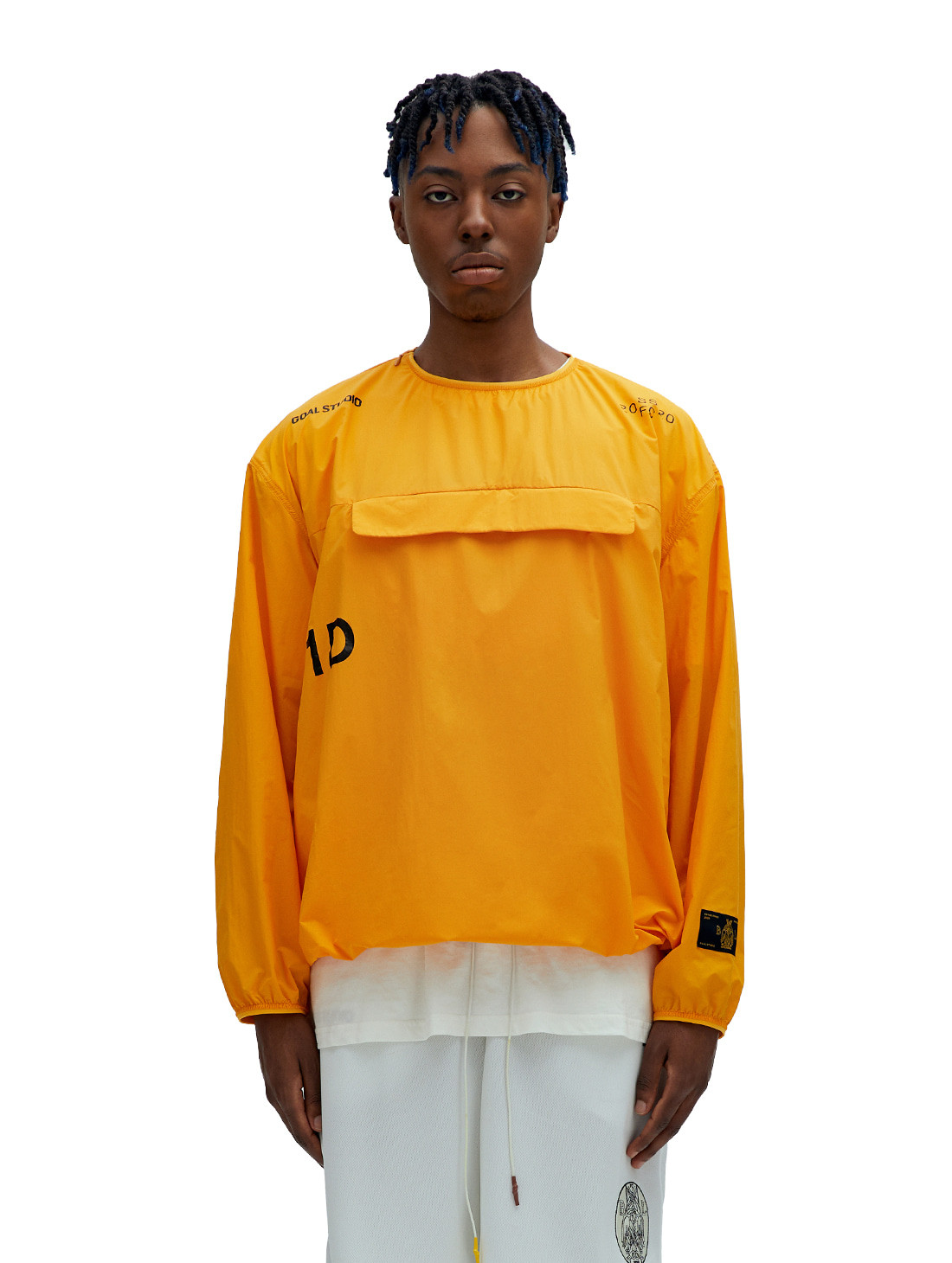 GOALSTUDIO SSFC PULLOVER WINDSHIRT - YELLOW