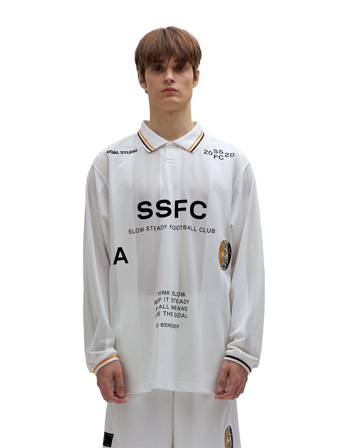 GOALSTUDIO SSFC UNIFORM LONG SLEEVE - WHITE(A)