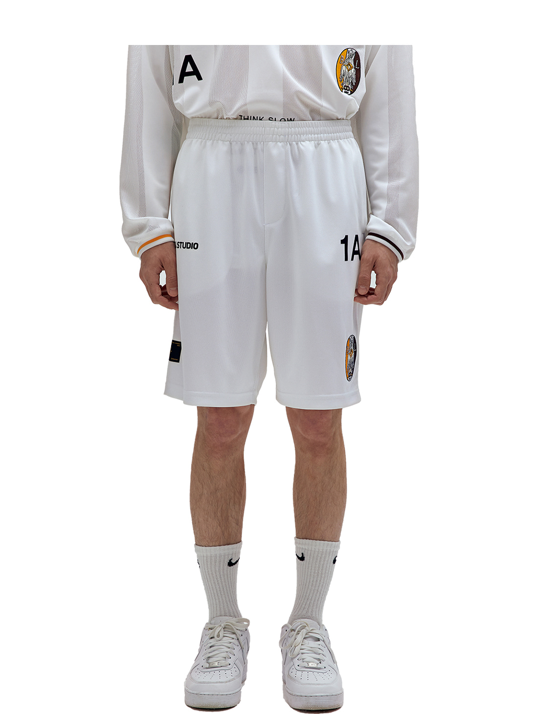 GOALSTUDIO SSFC UNIFORM PANTS - WHITE(A)