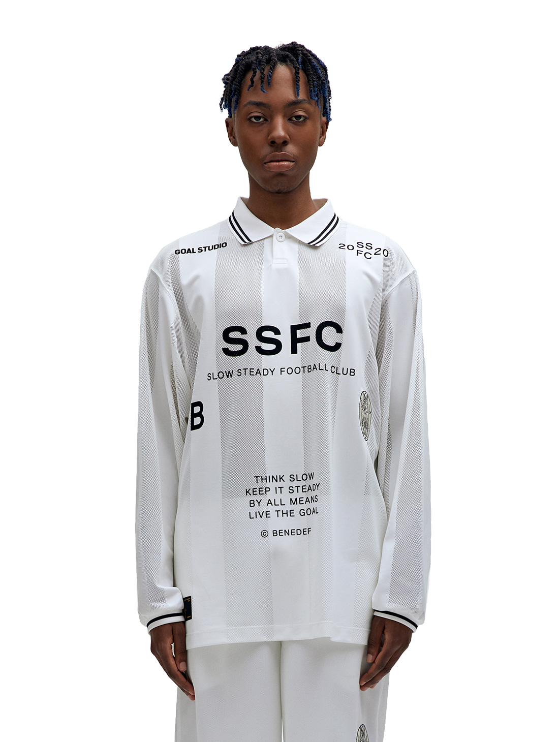 GOALSTUDIO (L) SSFC UNIFORM LONG SLEEVE - BLACK(B)
