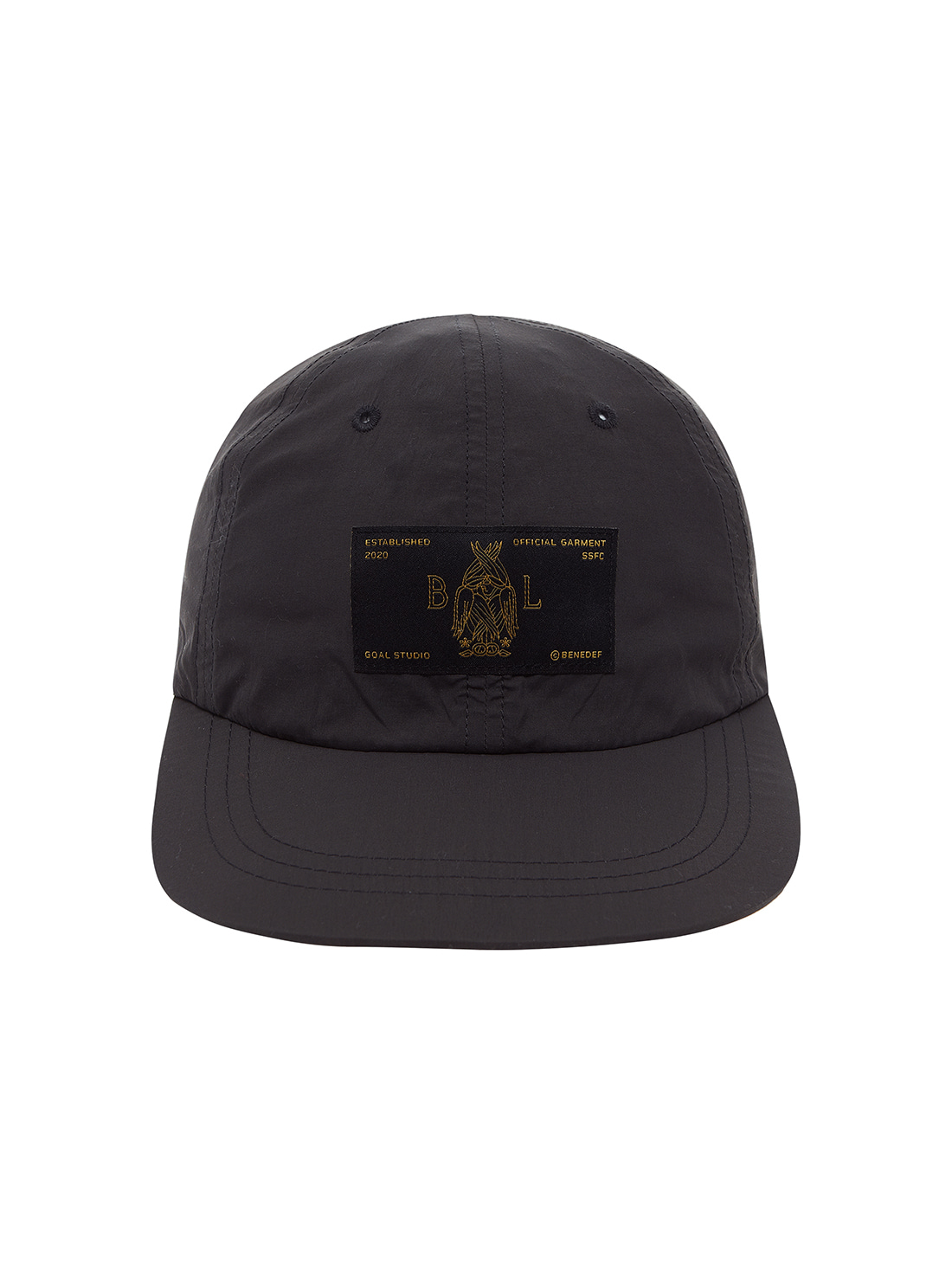 GOALSTUDIO SSFC BALL CAP - CHARCOAL