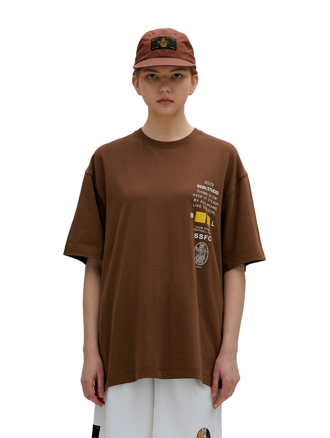 GOALSTUDIO SSFC JERSEY SINGLE SHORT SLEEVE - BROWN