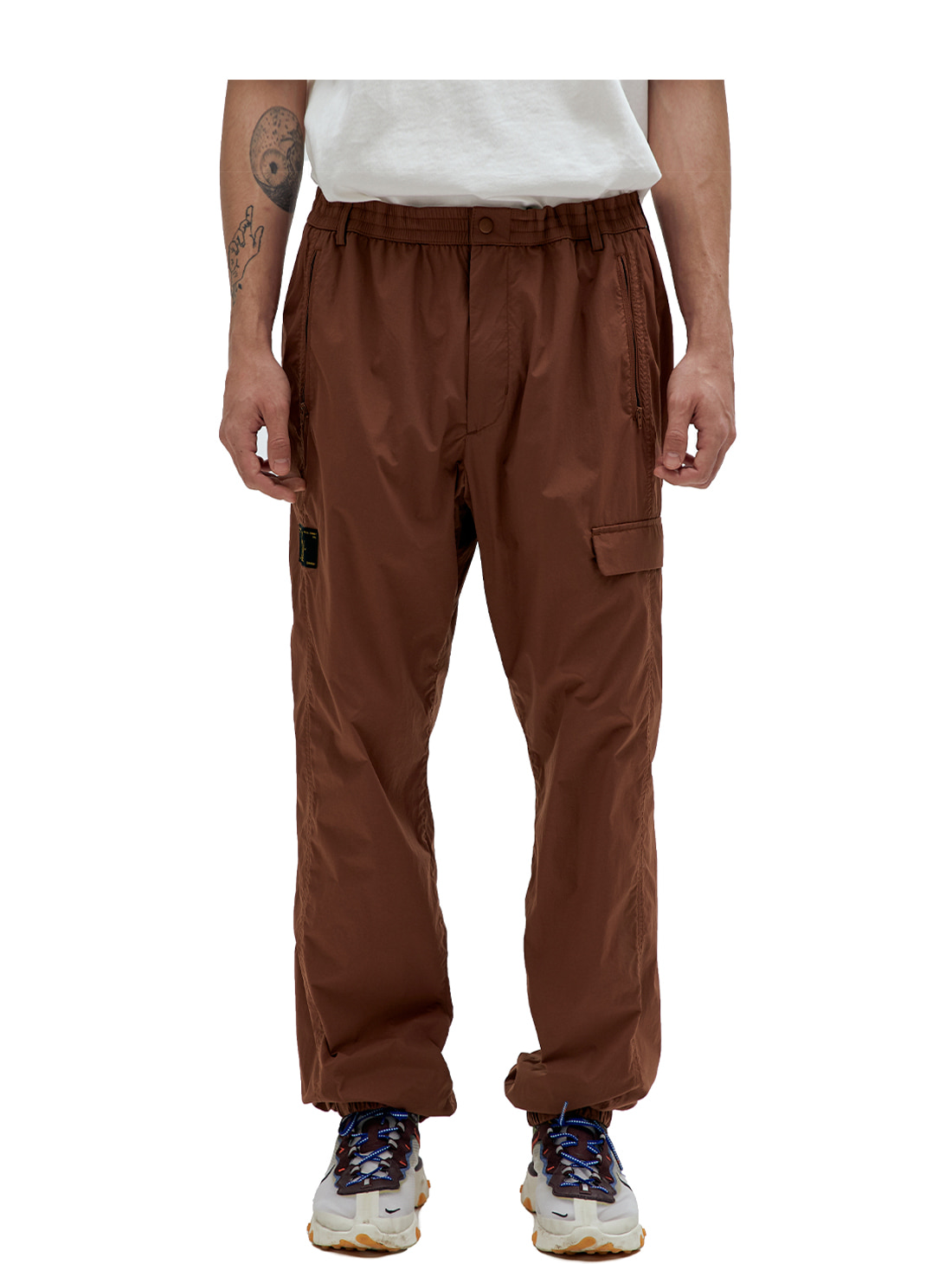 GOALSTUDIO SSFC OFFICIAL CLUB TROUSERS - BROWN