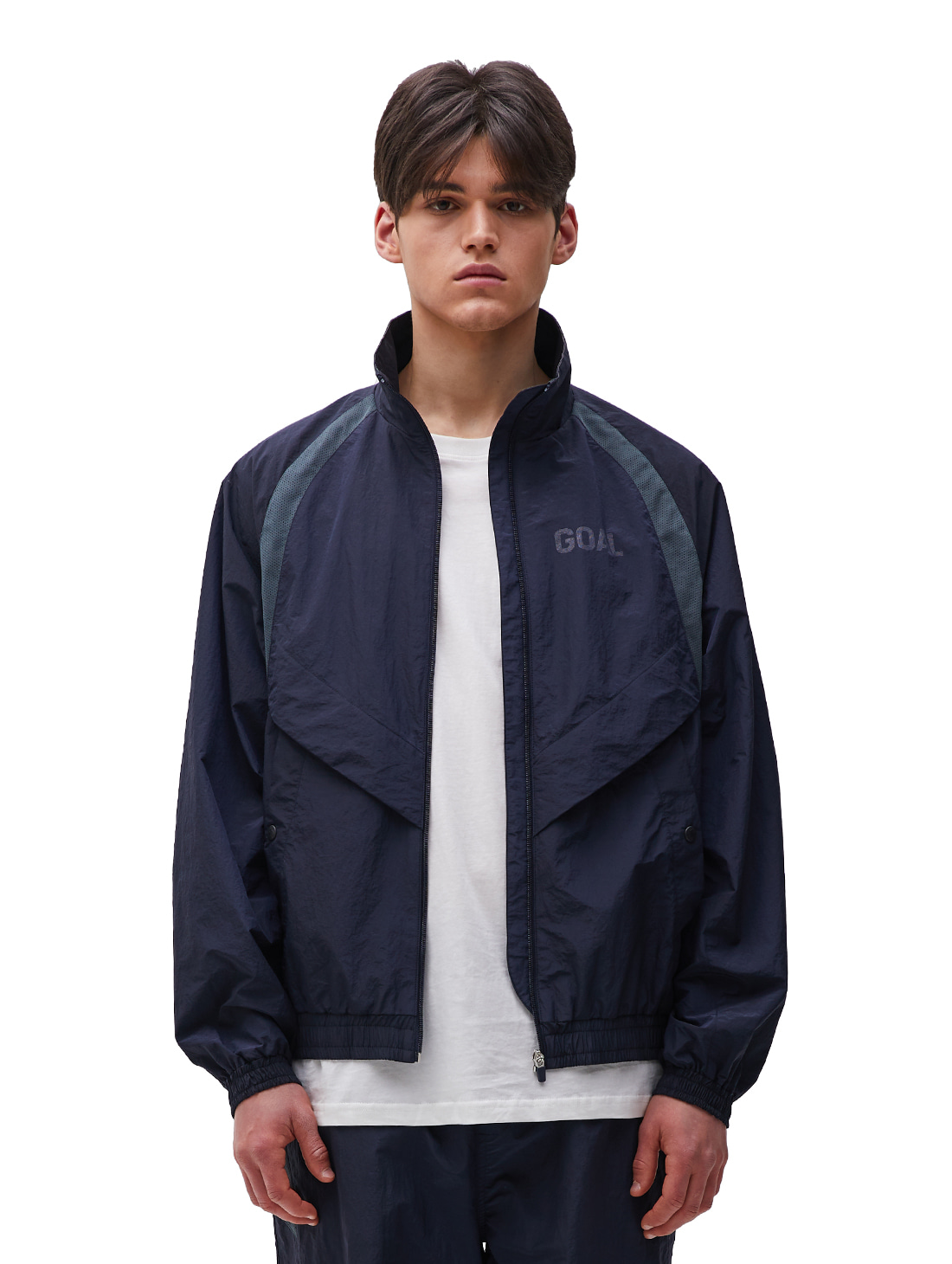 GOALSTUDIO WARMUP JACKET - NAVY