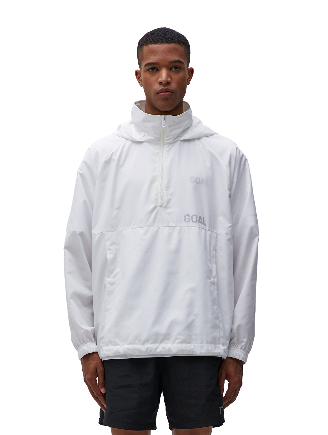 GOALSTUDIO (2XL) LTG ANORAK - WHITE