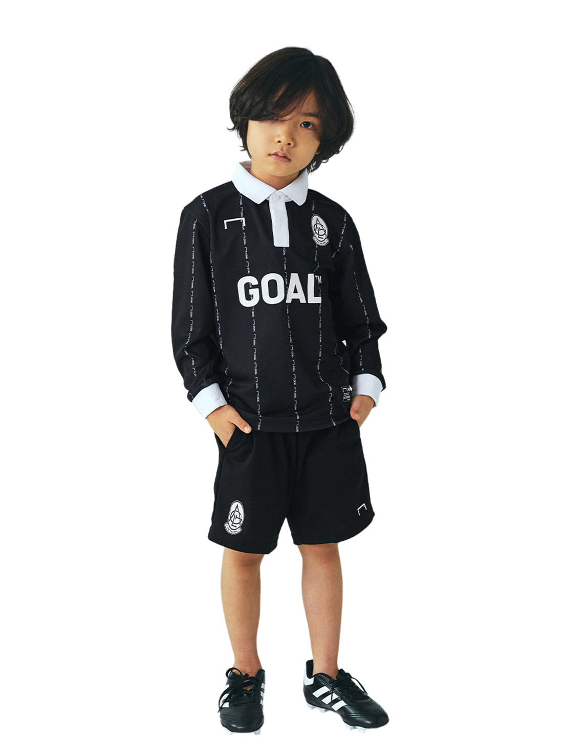 GOALSTUDIO [10% OFF] (KIDS) PLAYER EMBLEM JERSEY & SHORTS SET