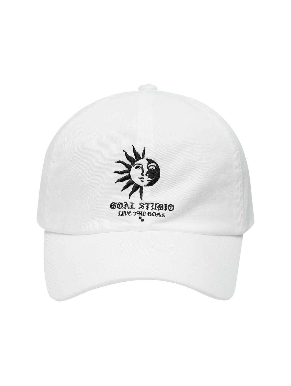 GOALSTUDIO MC BALL CAP - WHITE