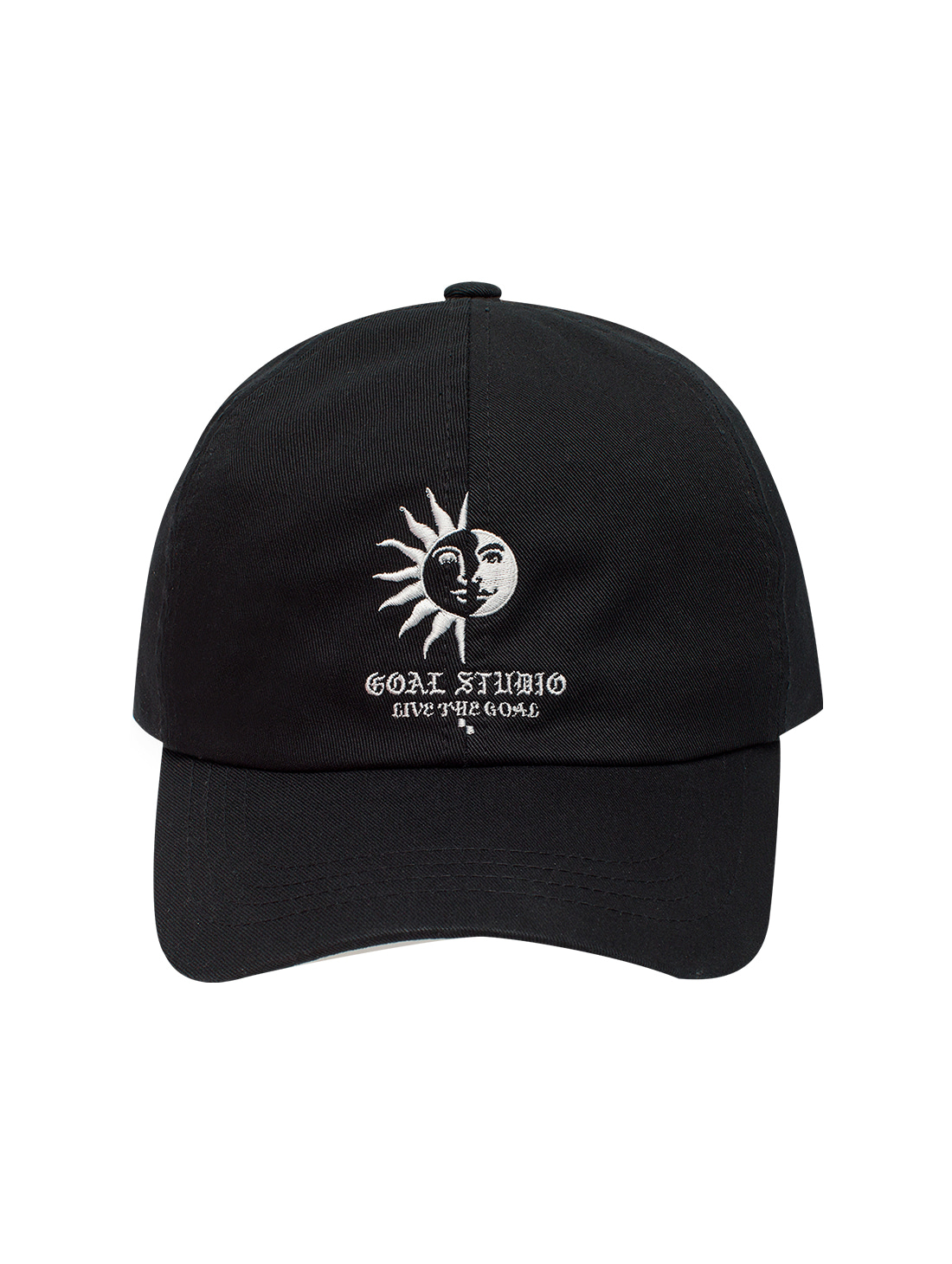 GOALSTUDIO MC BALL CAP - BLACK