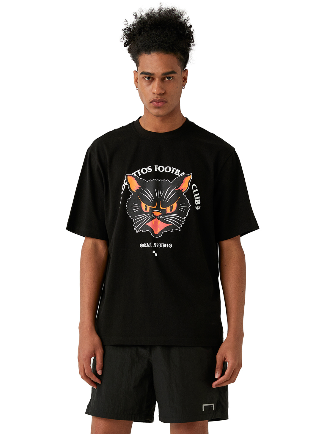 GOALSTUDIO MC FACE GRAPHIC TEE - BLACK