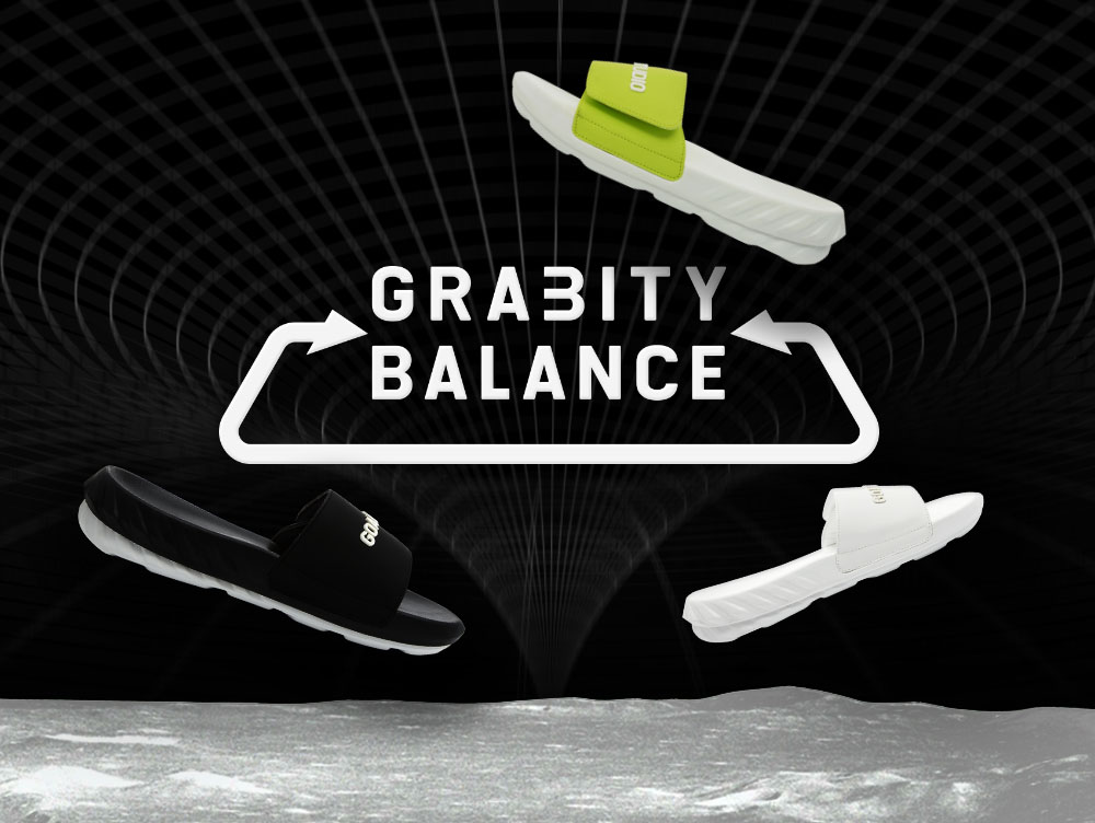 GOALSTUDIO GOALSTUDIO's first footwear - GRAB-ITY BALANCE
