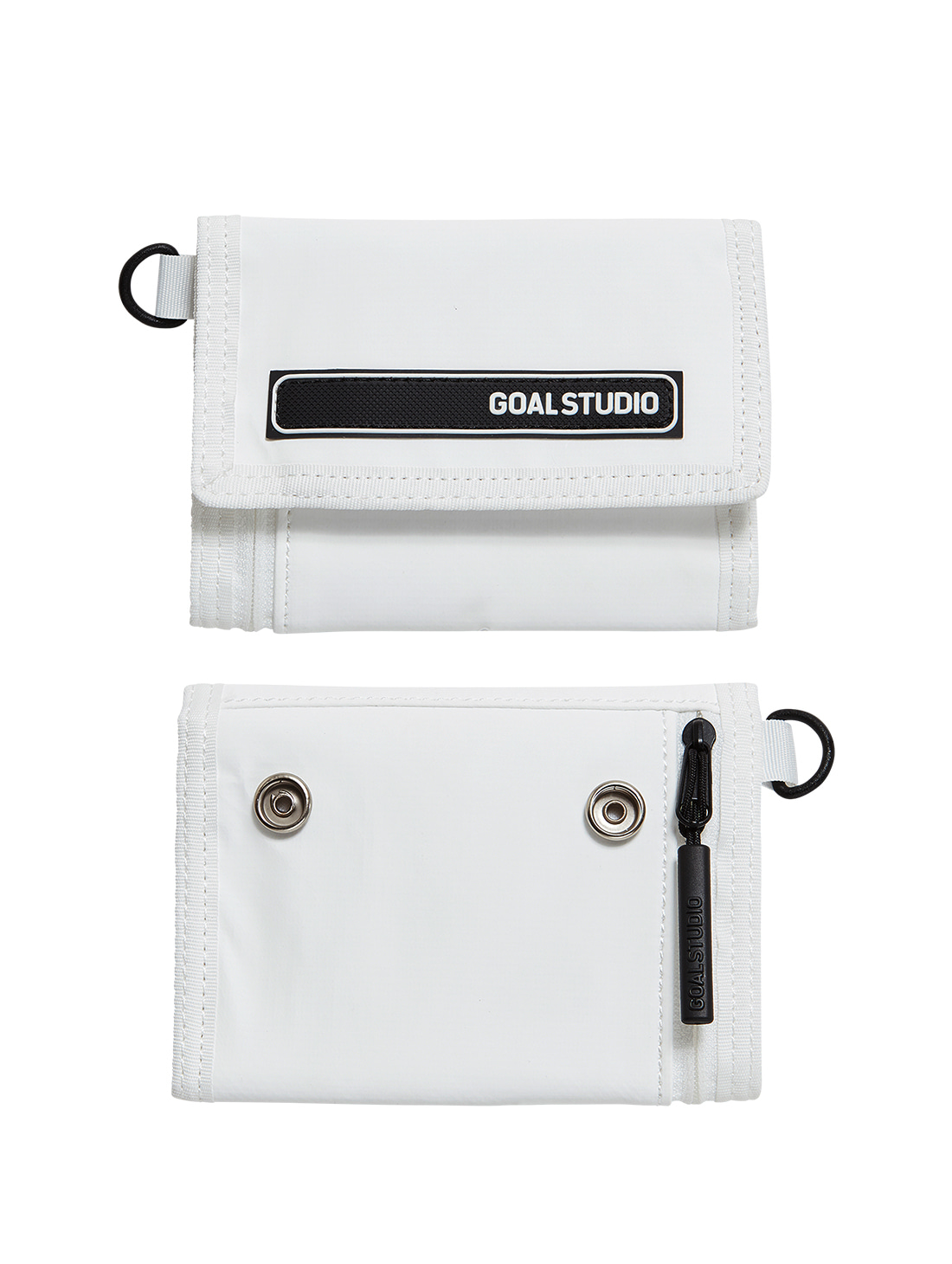 GOALSTUDIO LOGO WAPPEN WALLET - WHITE