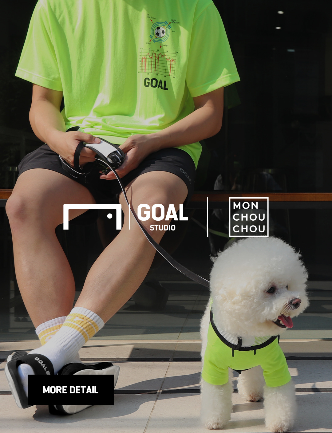 GOALSTUDIO GOALSTUDIO X MONCHOUCHOU RELEASE PET-FRIENDLY GOODS