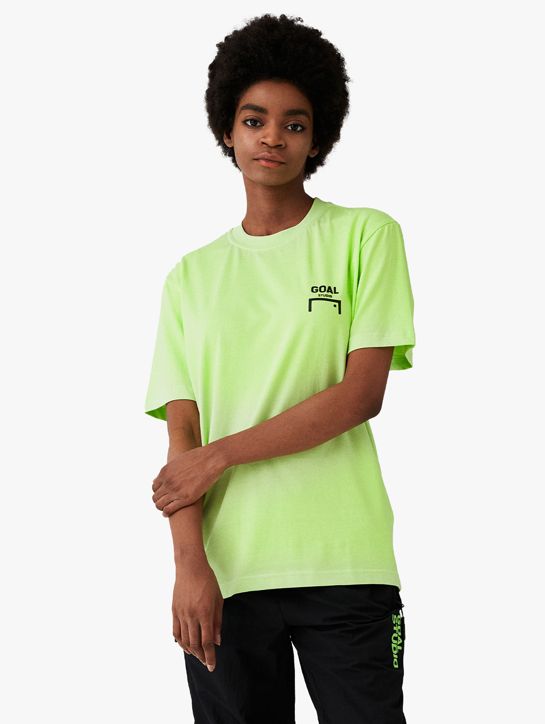 GOALSTUDIO LOGO SHORT SLEEVE TEE (2 Colors)