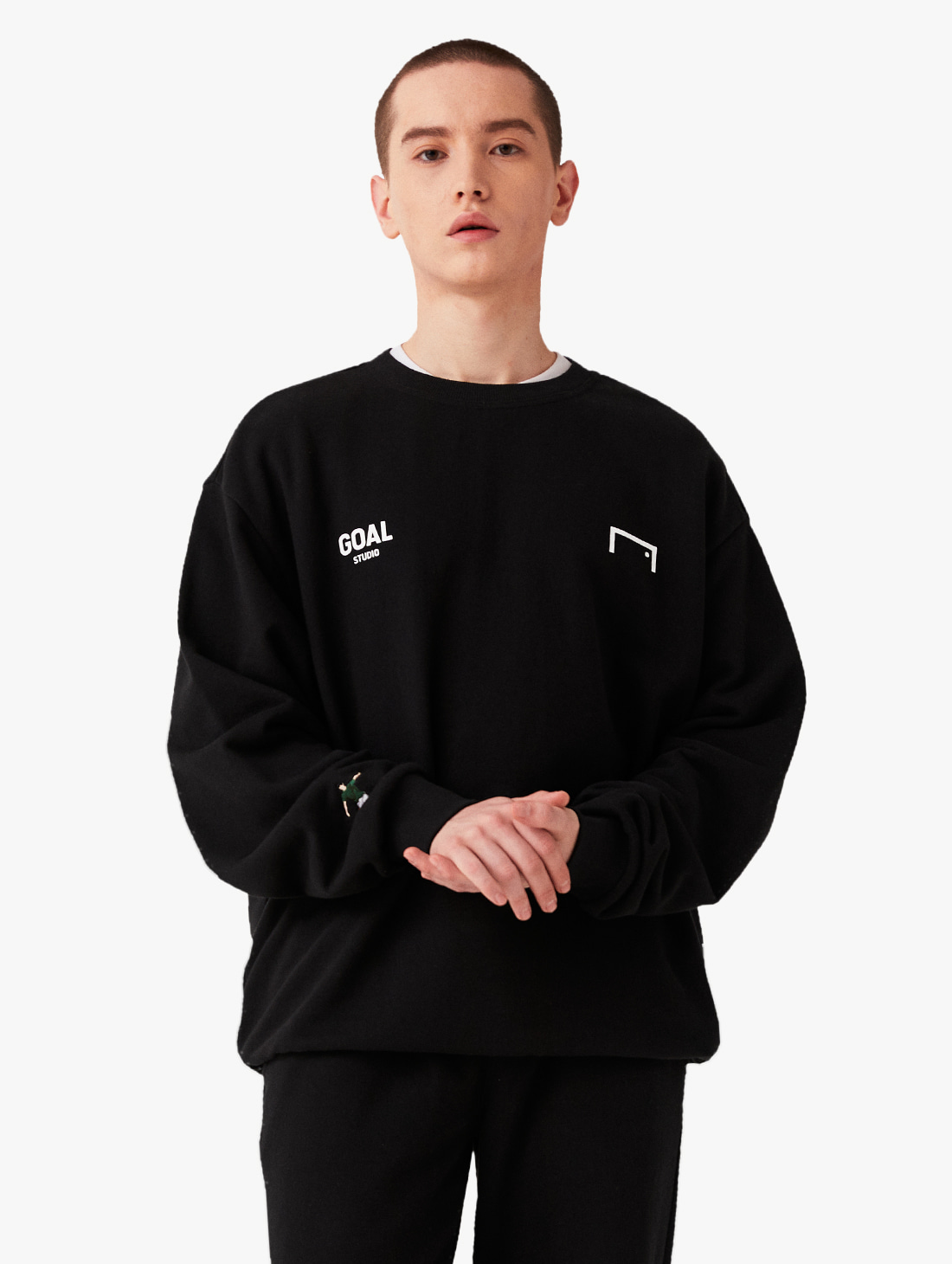 GOALSTUDIO SIGNATURE LOGO SWEATSHIRT 2.0 (3 Colors)