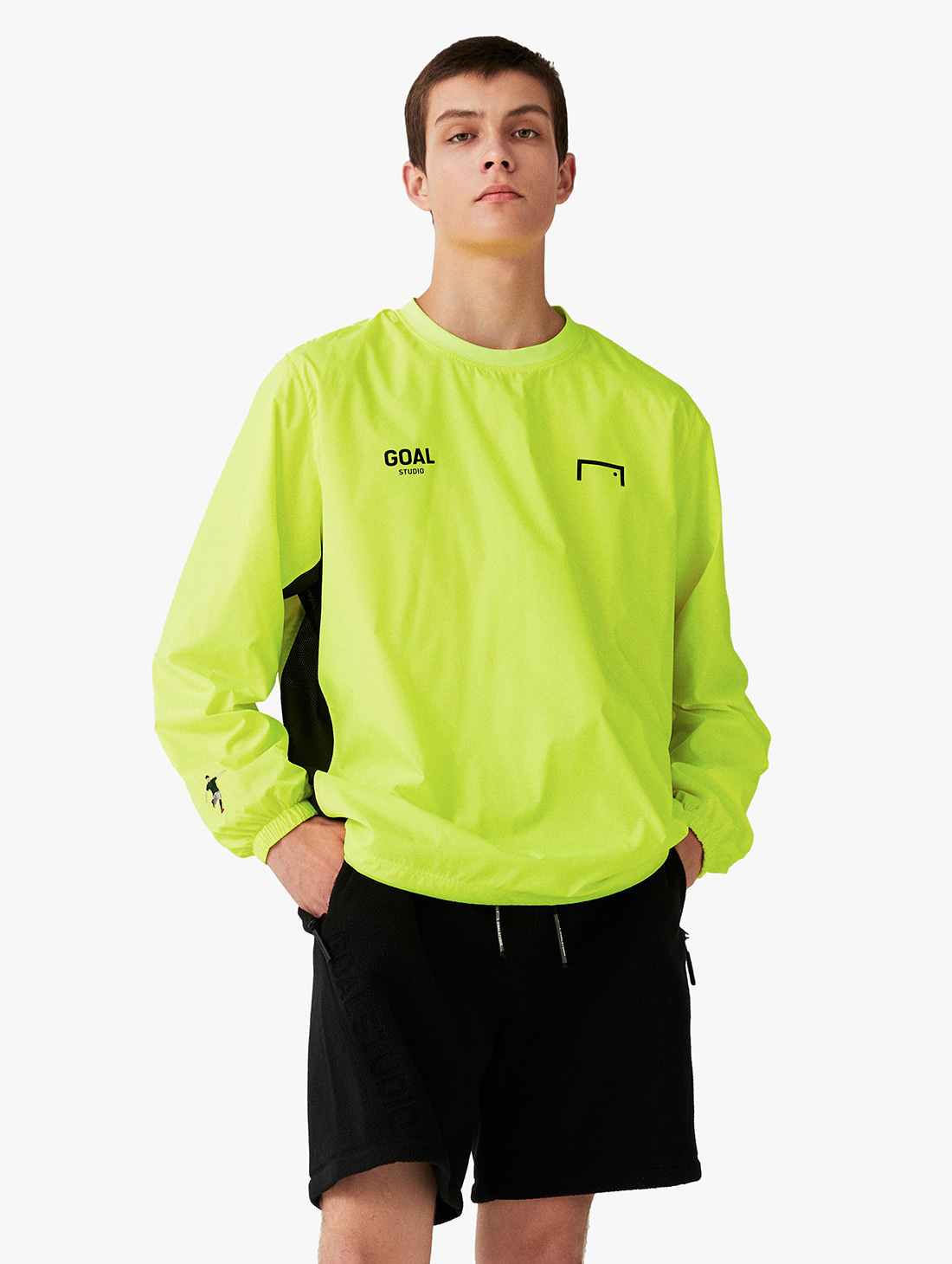GOALSTUDIO SIGNATURE LOGO WINDPULLOVER (3 Colors)