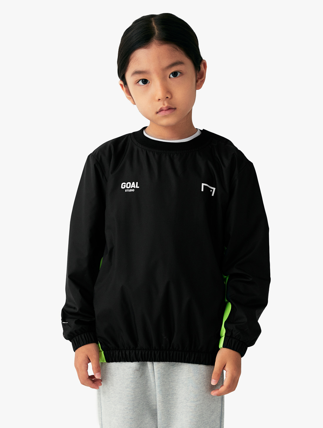 GOALSTUDIO (KIDS) SIGNATURE LOGO WINDPULLOVER (3 Colors)