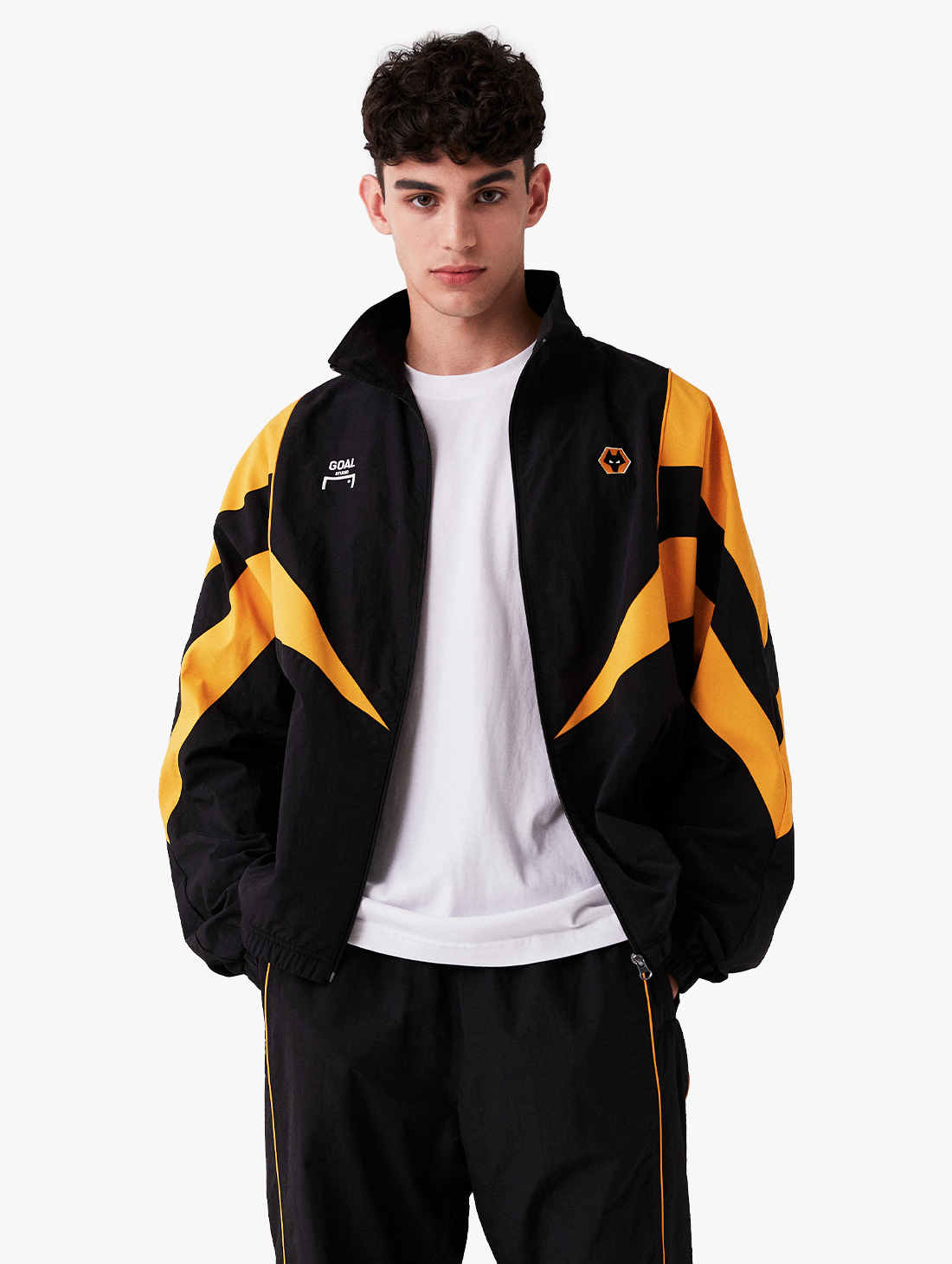 GOALSTUDIO (Sold Out) WWFC TRACK ZIP-UP JACKET (2 Colors)