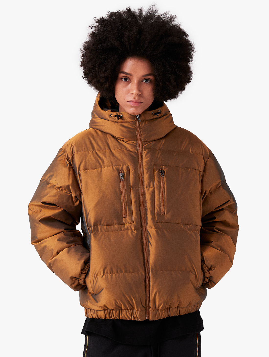 GOALSTUDIO (Sold Out) WWFC TWO TONE DOWN JACKET