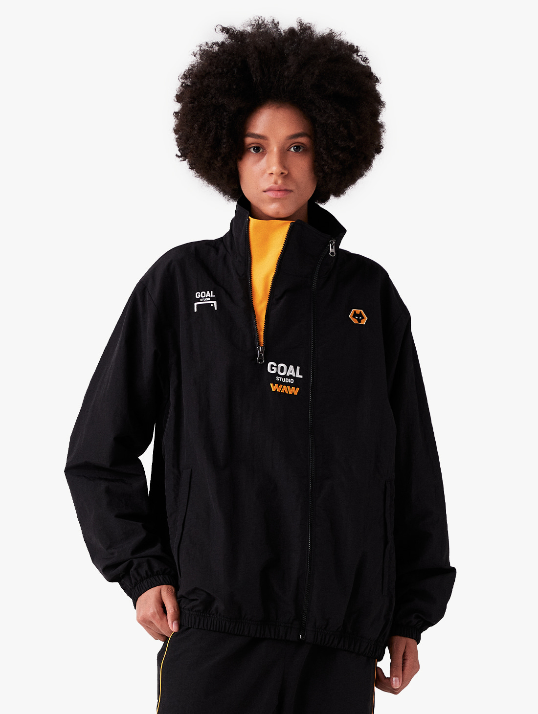 GOALSTUDIO [PRE-ORDER 10% OFF] WWFC ASYMMETRIC ZIP-UP JACKET