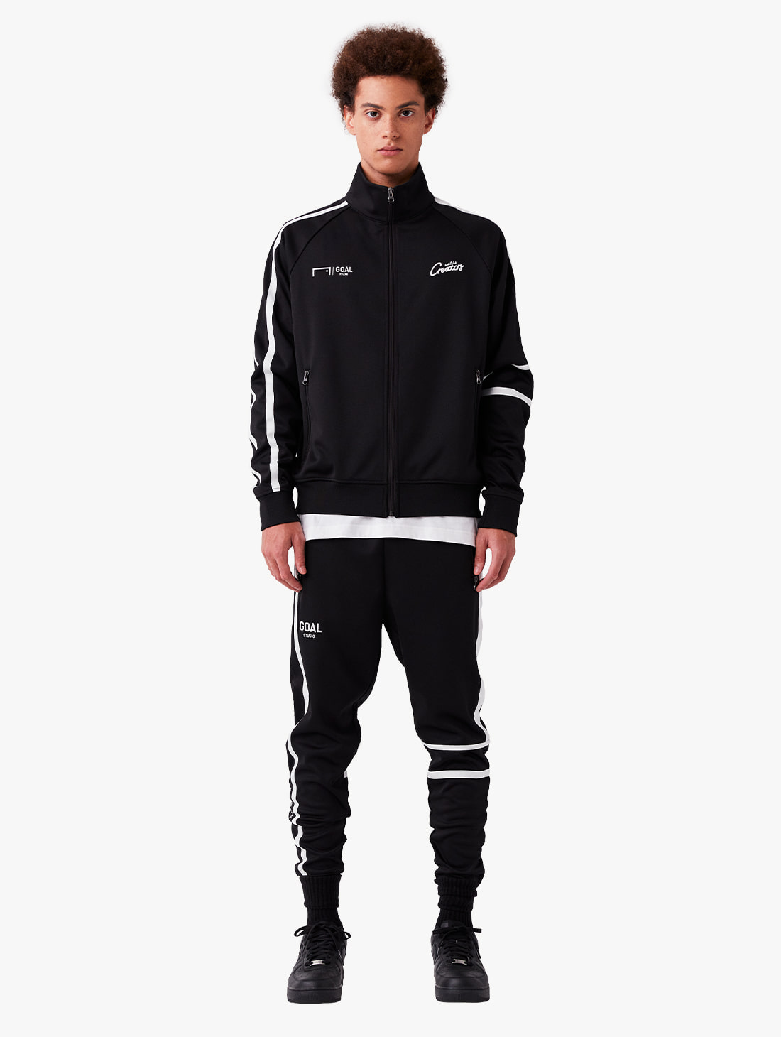 GOALSTUDIO [10% OFF] CFC TRACK ZIP-UP JACKET & TRACK PANTS SET