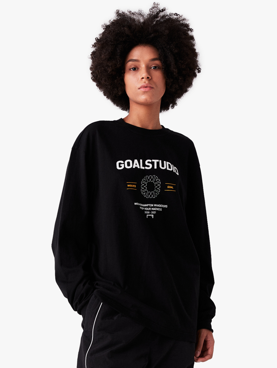 GOALSTUDIO (Sold Out) WWFC LONG SLEEVE SHIRT