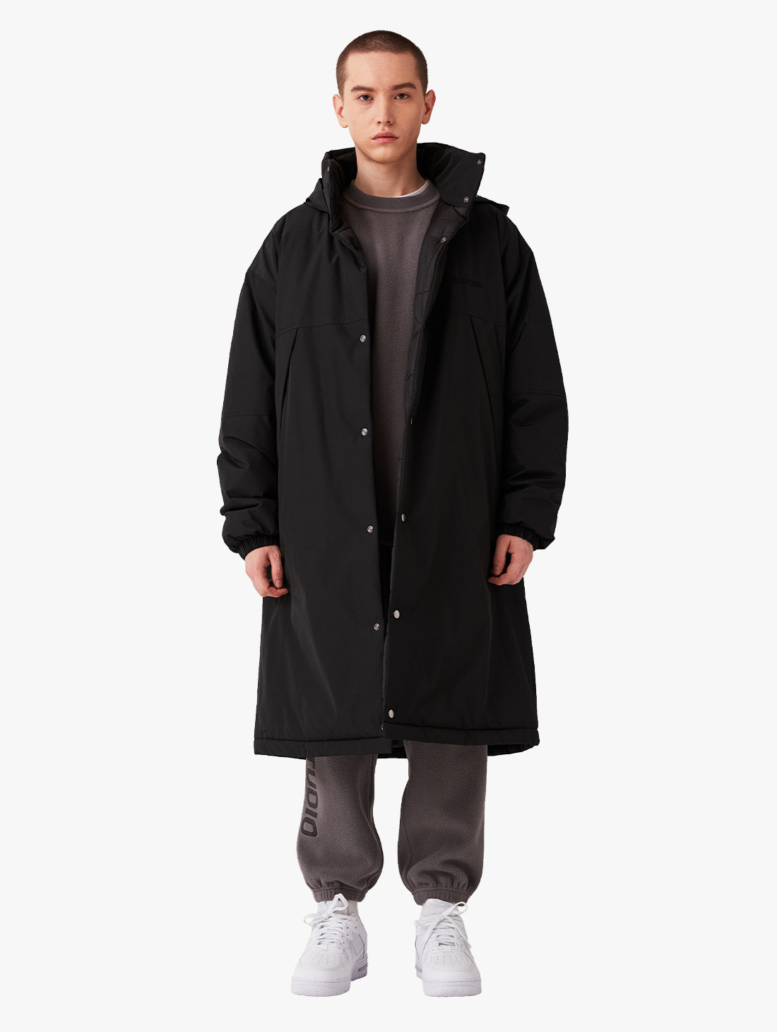 GOALSTUDIO OVERSIZED LONG PADDED JACKET