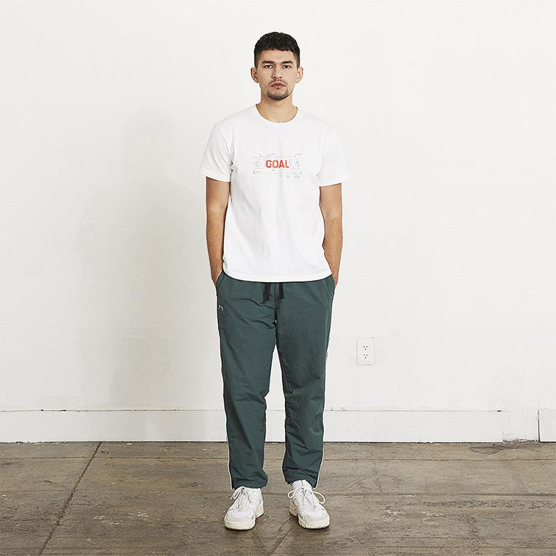 GOALSTUDIO (Sold Out) SMALL LOGO TRACK PANTS
