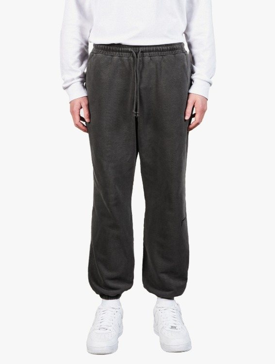 GOALSTUDIO PIGMENT DYE JOGGER PANTS - DARK GREY