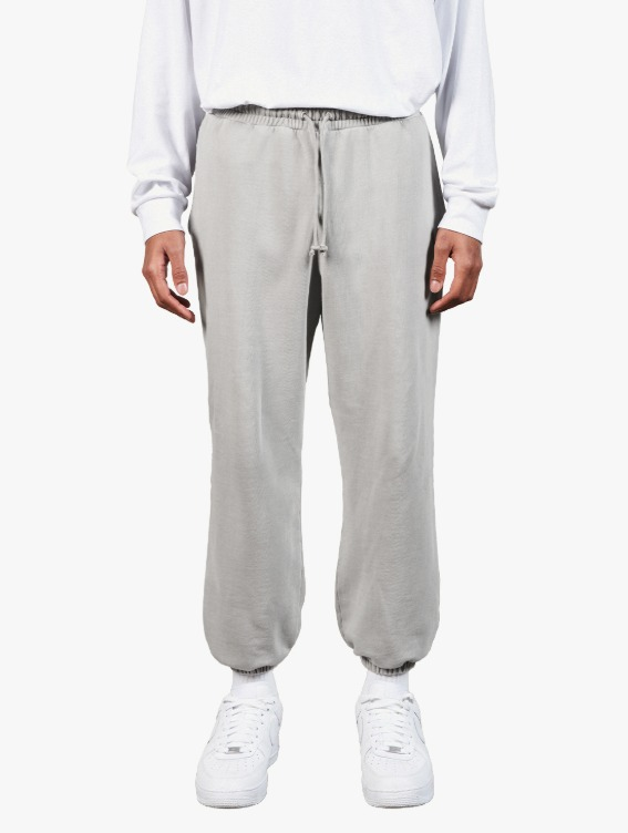 GOALSTUDIO PIGMENT DYE JOGGER PANTS - GREY