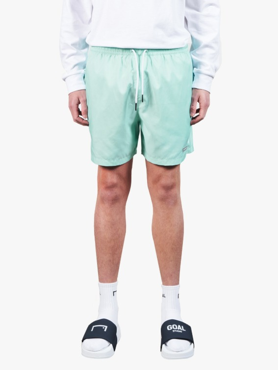 GOALSTUDIO REFLECTIVE LABEL SHORTS - MINT