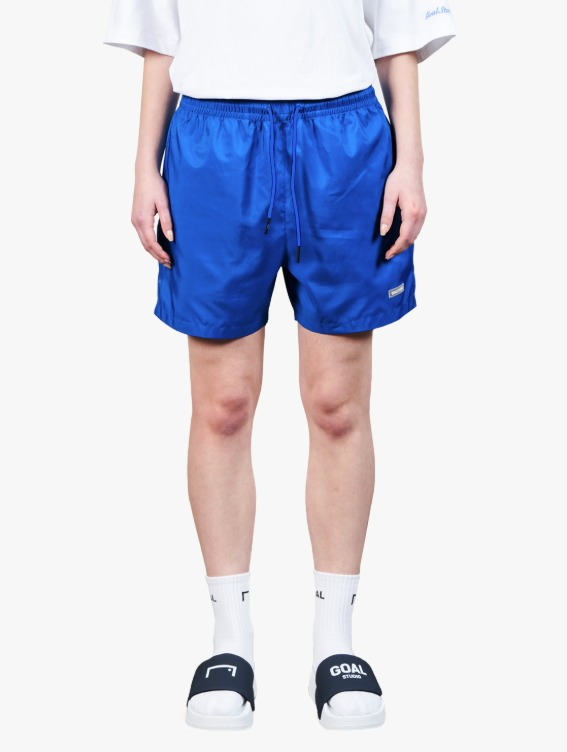 GOALSTUDIO REFLECTIVE LABEL SHORTS - BLUE