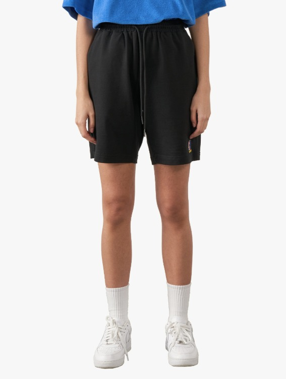GOALSTUDIO FREE KICK CAPSULE JERSEY SHORTS - BLACK