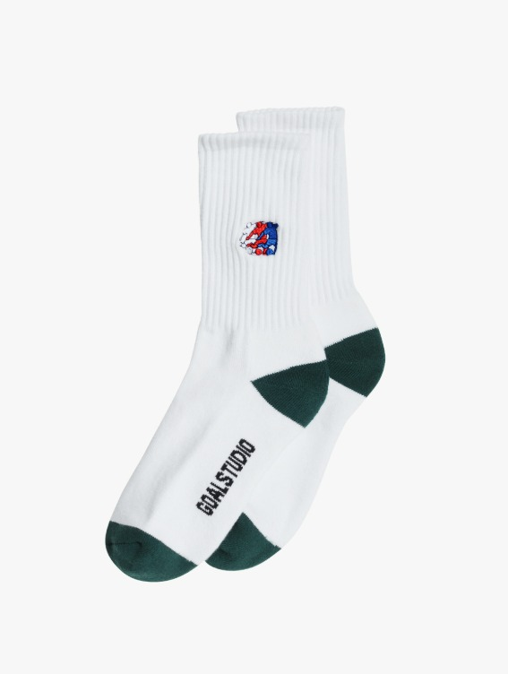 GOALSTUDIO FREE KICK CAPSULE SOCKS - GREEN