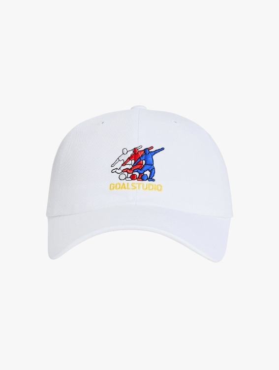 GOALSTUDIO FREE KICK CAPSULE ARTWORK BALL CAP - WHITE
