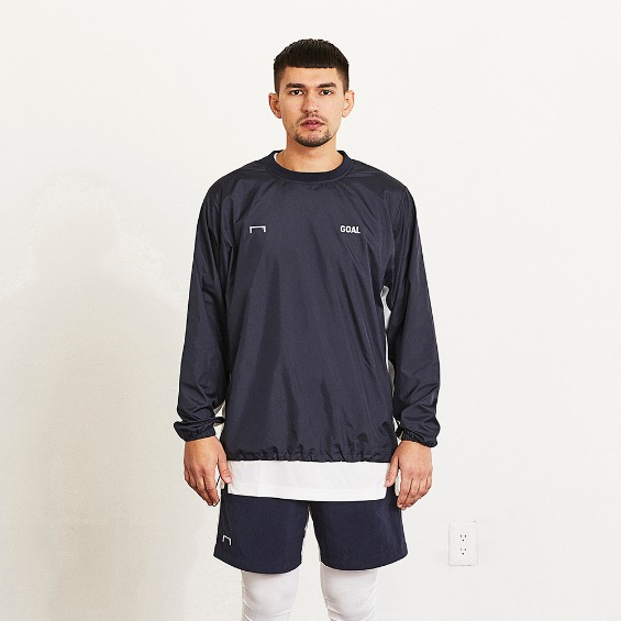 GOALSTUDIO LOGO WIND PULLOVER